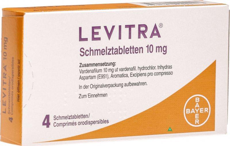 Effetti collaterali del farmaco levitra