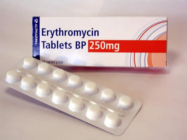 erythromycin bei Infektionen