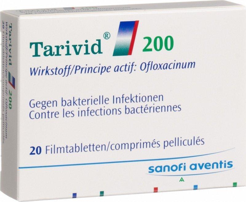 Tarivid Verpackung