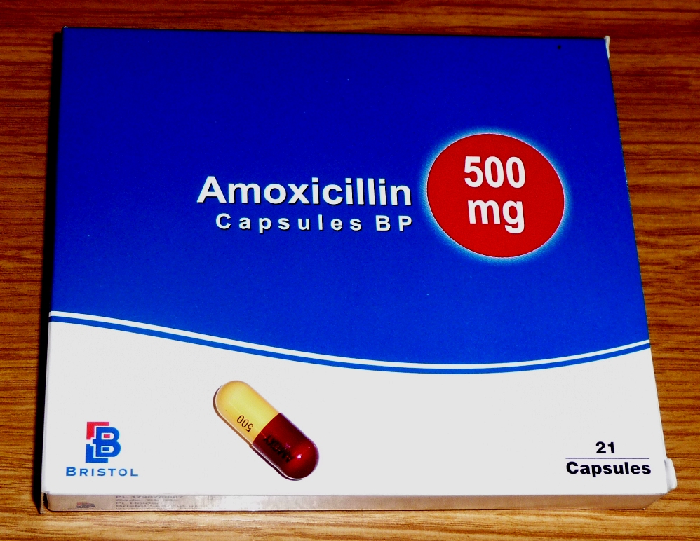 Amoxicilin Antibiotikum