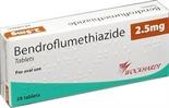 Bendroflumethiazid Bluthochdruck